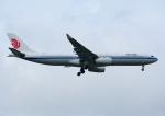 じーく。さんが、台湾桃園国際空港で撮影した中国国際航空 A330-343Xの航空フォト(飛行機 写真・画像)