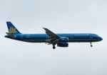 じーく。さんが、台湾桃園国際空港で撮影したベトナム航空 A321-231の航空フォト(飛行機 写真・画像)