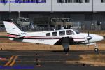 Chofu Spotter Ariaさんが、八尾空港で撮影した朝日航空 Baron G58の航空フォト(写真)