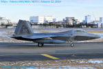 Chofu Spotter Ariaさんが、横田基地で撮影したアメリカ空軍 F-22A-30-LM Raptorの航空フォト(飛行機 写真・画像)