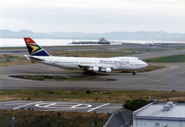 南アフリカ航空 Boeing 747-200 ...
