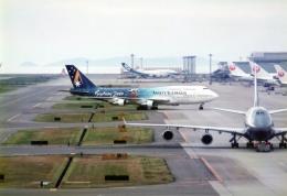 奈良ン児さんが、関西国際空港で撮影したアンセット・オーストラリア航空 747-312の航空フォト(飛行機 写真・画像)