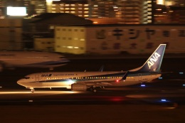 さちやちさんが、福岡空港で撮影した全日空 737-881の航空フォト(飛行機 写真・画像)
