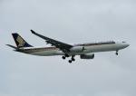 じーく。さんが、台湾桃園国際空港で撮影したシンガポール航空 A330-343Eの航空フォト(飛行機 写真・画像)