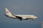 we love kixさんが、関西国際空港で撮影したプライベートエア 737-7CN BBJの航空フォト(飛行機 写真・画像)
