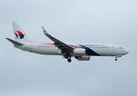 じーく。さんが、台湾桃園国際空港で撮影したマレーシア航空 737-8H6の航空フォト(飛行機 写真・画像)
