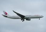じーく。さんが、台湾桃園国際空港で撮影した中国東方航空 A330-343Xの航空フォト(飛行機 写真・画像)