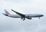 じーく。さんが、台湾桃園国際空港で撮影したチャイナエアライン A330-302の航空フォト(飛行機 写真・画像)