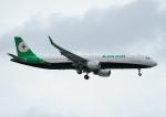 じーく。さんが、台湾桃園国際空港で撮影したエバー航空 A321-211の航空フォト(飛行機 写真・画像)