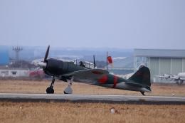 鹿児島のぽりっす♪さんが、鹿屋航空基地で撮影した日本個人所有 Zero 22/A6M3の航空フォト(飛行機 写真・画像)