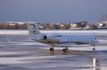 Dojalanaさんが、函館空港で撮影したジェット・アビエーション・ビジネス・ジェット G-V-SP Gulfstream G550の航空フォト(写真)