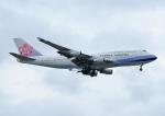 じーく。さんが、台湾桃園国際空港で撮影したチャイナエアライン 747-409の航空フォト(飛行機 写真・画像)