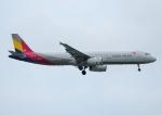 じーく。さんが、台湾桃園国際空港で撮影したアシアナ航空 A321-231の航空フォト(飛行機 写真・画像)