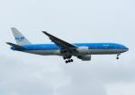 じーく。さんが、台湾桃園国際空港で撮影したKLMオランダ航空 777-206/ERの航空フォト(飛行機 写真・画像)