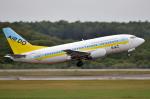 ☆NSさんが、新千歳空港で撮影したAIR DO 737-54Kの航空フォト(写真)