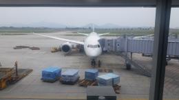 くま太郎さんが、ノイバイ国際空港で撮影した全日空 787-8 Dreamlinerの航空フォト(飛行機 写真・画像)