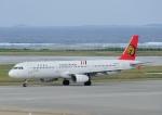 じーく。さんが、那覇空港で撮影したトランスアジア航空 A321-131の航空フォト(飛行機 写真・画像)