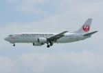 じーく。さんが、那覇空港で撮影した日本トランスオーシャン航空 737-4Q3の航空フォト(飛行機 写真・画像)