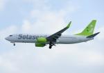 じーく。さんが、那覇空港で撮影したソラシド エア 737-86Nの航空フォト(飛行機 写真・画像)