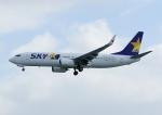 じーく。さんが、那覇空港で撮影したスカイマーク 737-8HXの航空フォト(写真)