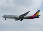 じーく。さんが、那覇空港で撮影したアシアナ航空 767-38Eの航空フォト(飛行機 写真・画像)