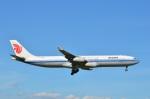 amagoさんが、成田国際空港で撮影した中国国際航空 A340-313Xの航空フォト(飛行機 写真・画像)