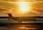 Cygnus00さんが、新千歳空港で撮影したジェット・エイビエーション G500/G550 (G-V)の航空フォト(写真)