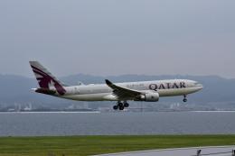 we love kixさんが、関西国際空港で撮影したカタール航空 A330-202の航空フォト(飛行機 写真・画像)