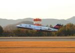ふじいあきらさんが、広島空港で撮影したアイベックスエアラインズ CL-600-2B19 Regional Jet CRJ-200ERの航空フォト(写真)
