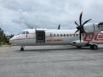 レフティーさんが、ボラボラ空港で撮影したエア・タヒチ ATR-72-500 (ATR-72-212A)の航空フォト(写真)