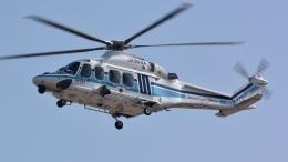 santaさんが、宇都宮飛行場で撮影した海上保安庁 AW139の航空フォト(飛行機 写真・画像)