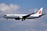 tsubasa0624さんが、成田国際空港で撮影した中国国際航空 737-89Lの航空フォト(飛行機 写真・画像)