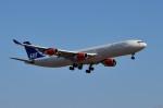 tsubasa0624さんが、成田国際空港で撮影したスカンジナビア航空 A340-313Xの航空フォト(写真)