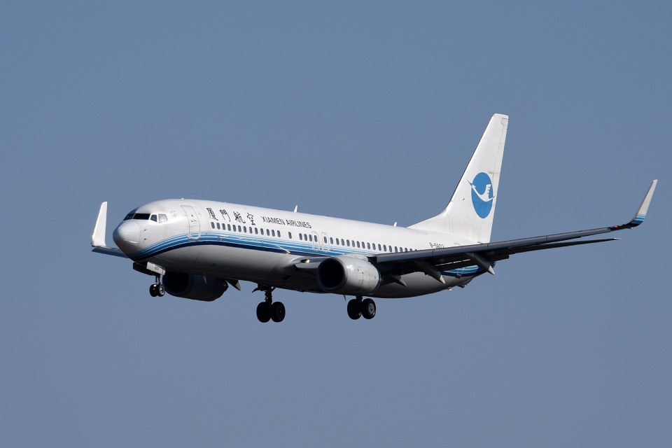 tsubasa0624さんの厦門航空 Boeing 737-800 (B-5603) 航空フォト
