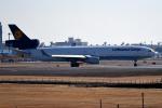 tsubasa0624さんが、成田国際空港で撮影したルフトハンザ・カーゴ MD-11Fの航空フォト(飛行機 写真・画像)
