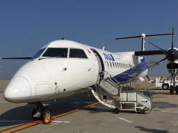 レフティーさんが、中部国際空港で撮影したANAウイングス DHC-8-402Q Dash 8の航空フォト(飛行機 写真・画像)