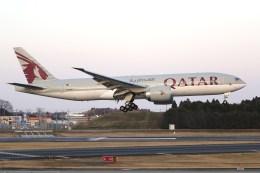 NRT_roseさんが、成田国際空港で撮影したカタール航空 777-2DZ/LRの航空フォト(飛行機 写真・画像)