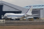 アボさんが、金海国際空港で撮影した大韓民国空軍 747-4B5の航空フォト(写真)