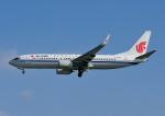 じーく。さんが、那覇空港で撮影した中国国際航空 737-89Lの航空フォト(飛行機 写真・画像)