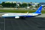 RUSSIANSKIさんが、シンガポール・チャンギ国際空港で撮影した厦門航空 737-85Cの航空フォト(飛行機 写真・画像)