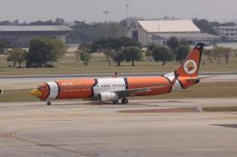 しかばねさんが、ドンムアン空港で撮影したノックエア 737-83Nの航空フォト(飛行機 写真・画像)