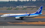 T.Kenさんが、成田国際空港で撮影した全日空 737-881の航空フォト(写真)