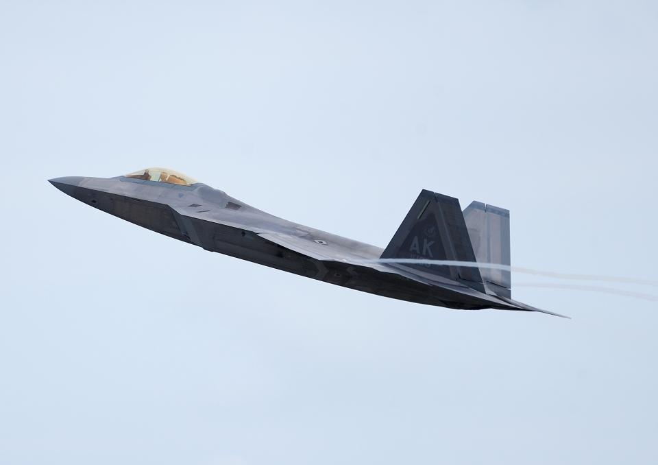 じーく。さんのアメリカ空軍 Lockheed Martin F-22 Raptor (06-4108) 航空フォト