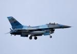 じーく。さんが、嘉手納飛行場で撮影したアメリカ空軍 F-16C Fighting Falconの航空フォト(飛行機 写真・画像)