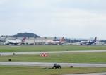 じーく。さんが、嘉手納飛行場で撮影したアトラス航空 747-47UF/SCDの航空フォト(飛行機 写真・画像)