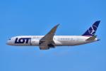パンダさんが、成田国際空港で撮影したLOTポーランド航空 787-8 Dreamlinerの航空フォト(写真)