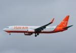 じーく。さんが、那覇空港で撮影したチェジュ航空 737-8Q8の航空フォト(飛行機 写真・画像)