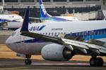 しゅあさんが、伊丹空港で撮影した全日空 737-881の航空フォト(飛行機 写真・画像)