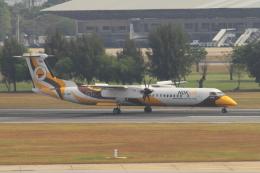 kingmengraiさんが、ドンムアン空港で撮影したノックエア DHC-8-402Q Dash 8の航空フォト(飛行機 写真・画像)