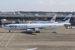 ぽんさんが、成田国際空港で撮影したフィンエアー A340-313Xの航空フォト(飛行機 写真・画像)